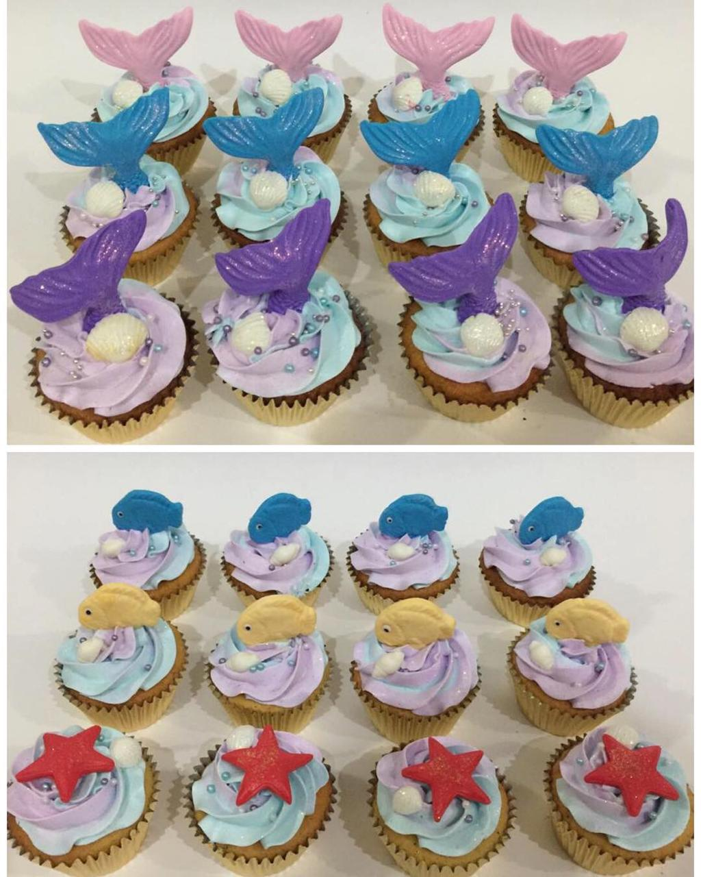 Cupcake Mermaid buat Ulang Tahun Anak