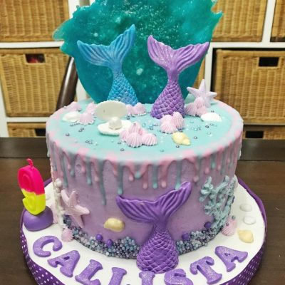 Kue Mermaid Birthday Cake