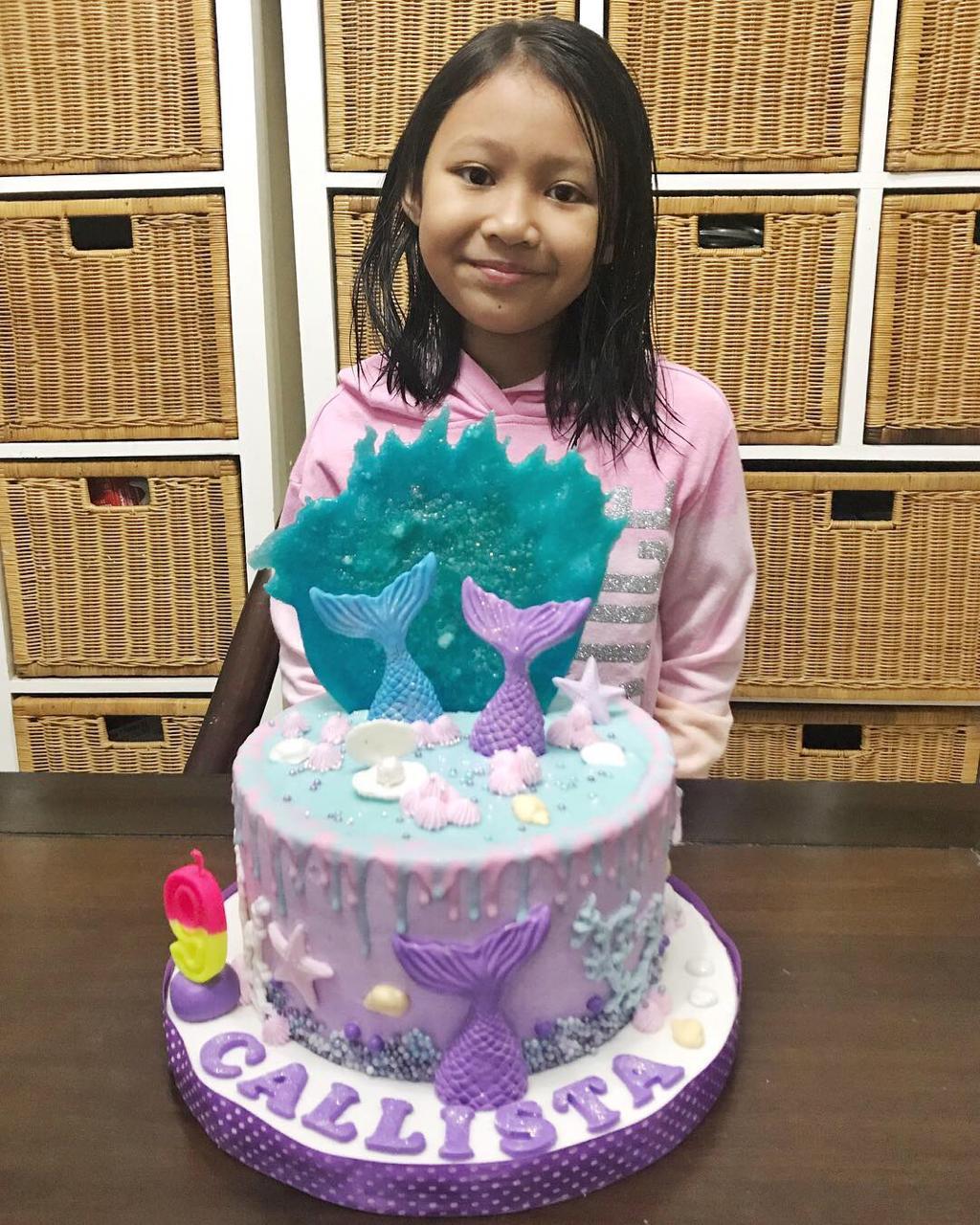 Kue Ulang tahun Mermaid